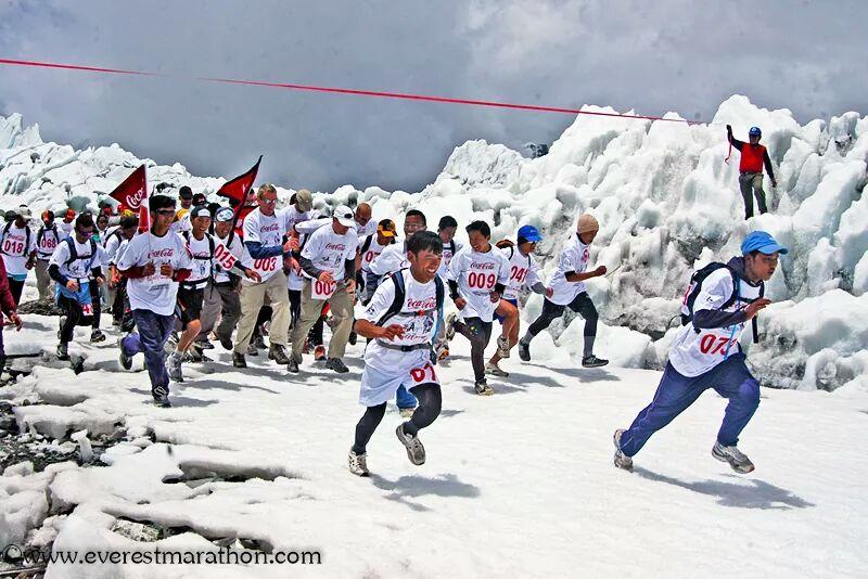 Everest startlinje